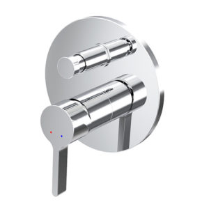Enhance Newton Wall Diverter Mixer Chrome